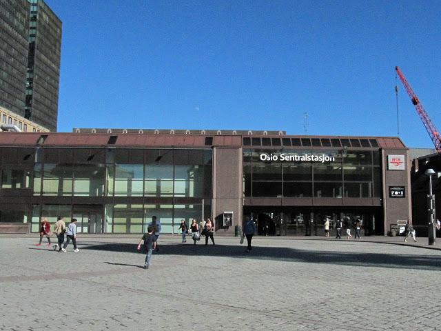 Центральный железнодорожный вокзал Осло (Oslo S)