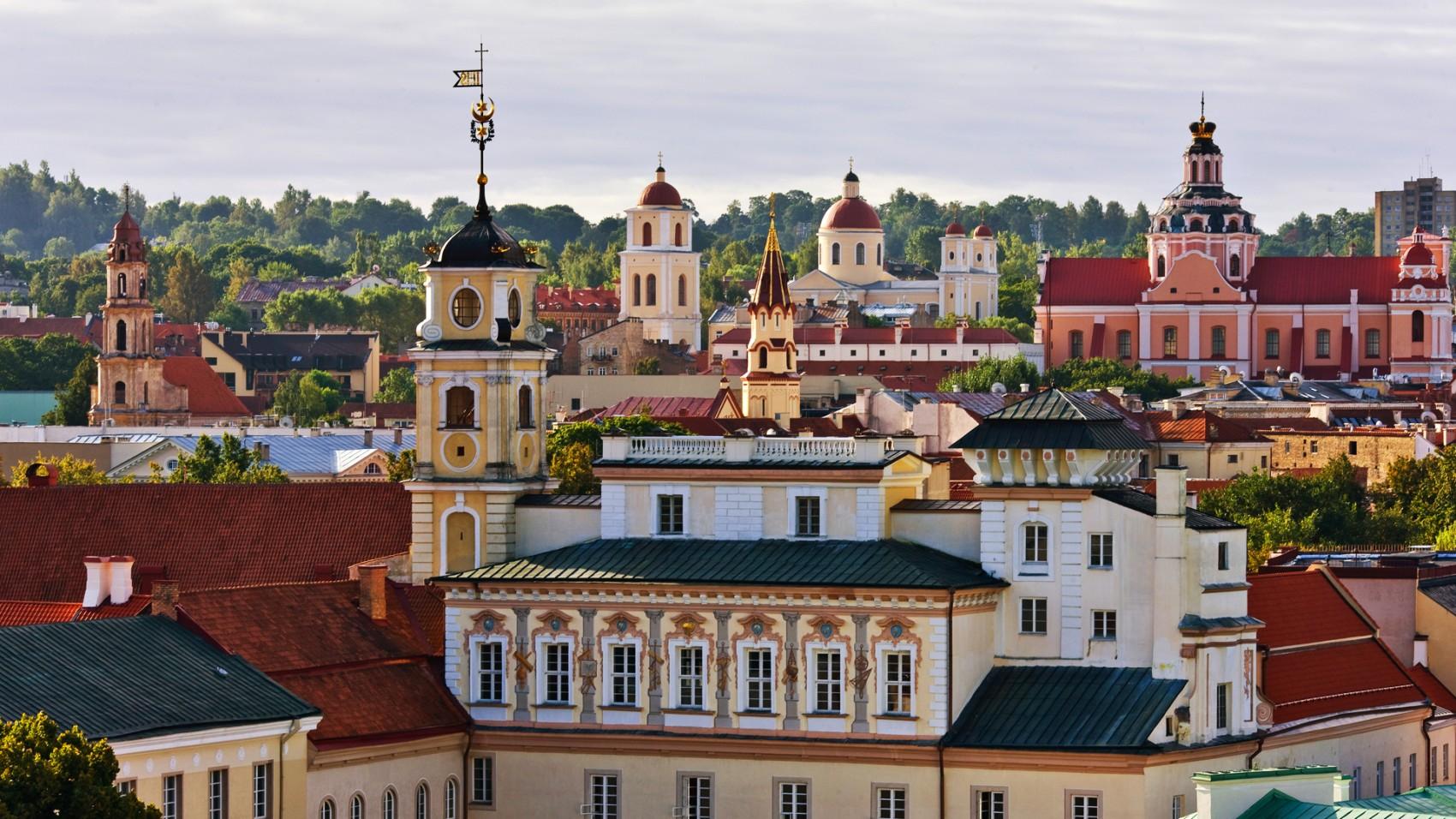 Вильнюс Cтарый город (источник:kempinski.com)